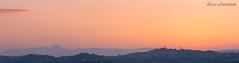 Corridonia (Luca-Anconetani) Tags: sunset marche italy lucaanconetani lemarche regionemarche panoramimarchigiani mc nikon landscaspes travel corridonia paesaggimaceratesi paesaggiomarchigiano tramonto skyline cityscape citta city orange coloridellasera