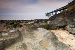 Clevedon Pier (brwestfc) Tags: pier victorian clevedon somerset sea seaside water rocks ocean tide beach