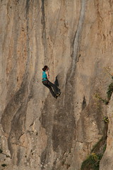 Rock climbing - Great Orme (cattan2011) Tags: 烕尔士 wales greatorme rocksclimbing traveltuesday travelphotography travelbloggers travel mountainside mountains mountainscape landscapephotography landscape