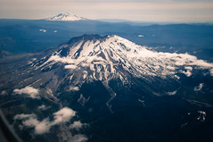 Mount St Helens & Mount Baker (Mule67) Tags: mount baker mountains volcanoes snow 5photosaday saint helens