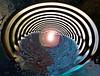 La 4e Dimension - The Forth Dimension (Emmanuelle Baudry - Em'Art) Tags: art artwork abstract artsurreal abstrait artnumérique artdigital artfantasy digitalart dark dream space star sf sciencefiction scifi composition spiritualité spirituality spacetime spiral spirale spatial espace espacetemps emmanuellebaudry emart étoile stars strange lumière light vision vortex eau water dimension 4edimension nikon couleur colour cosmos cosmic cosmique path passage porte gateway