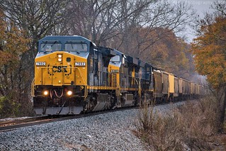 CSX V134-05 at Chattanooga, TN