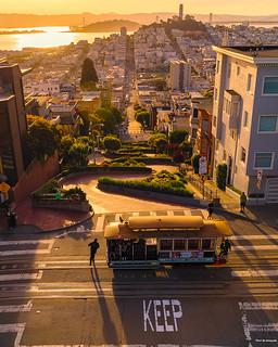 Cable Car & Lombard Street - San Francisco