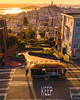 Cable Car & Lombard Street - San Francisco (davidyuweb) Tags: sanfrancisco luckysnapshot lombard street coittower bay bridge cable car 三藩市 sfist