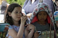Edinburgh Botanic Gardens BioBlitz 2018 -149 (Philip Gillespie) Tags: • edinburgh royal botanic gardens 2018 big bioblitz bio blitz kids children men women man woman people fun faces smiles water wet insects bugs moths spiders legs arms eyes hats grass trees bushes plants short pool sun sky pond lilly wings park nature colour green blue red yellow orange purple science teach record check house cottage photo photography canon 5dsr rbgenature thebotanics dipping worms birds bigbotanicsbioblitz
