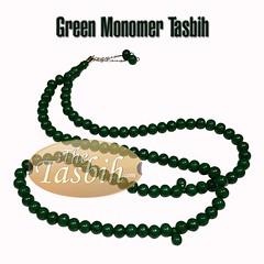 Green Monomer Tasbih (thetasbih.com) Tags: beads tasbeeh tasbeh prayer prayerbeads rosary zikr zikir tasbih misbaha sibha