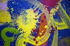De l'influence des rayons gamma (Gerard Hermand) Tags: 1702056504 gerardhermand france paris canon eos5dmarkii sol ground peinture paint couleur colour color abstrait abstract abstraction