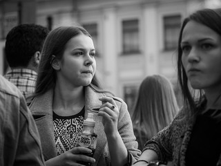 Faces on the street