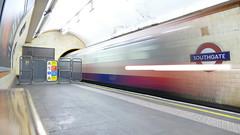 Southgate Station (londonbusexplorer) Tags: london underground piccadilly line 1973 tube stock southgate station