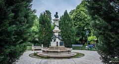 2018 - Romania - Bucharest - Parcul Luigi Cazzavillan (Ted's photos - Returns 16 August) Tags: 2018 bucharest cropped nikon nikond750 nikonfx romania tedmcgrath tedsphotos vignetting luigicazzavillanpark parculluigicazzavillan bucurestiparculluigicazzavillan parculluigicazzavillanbucuresti bucharestparculluigicazzavillan parculluigicazzavillanbucharest bucurestiluigicazzavillanpark luigicazzavillanparkbucuresti bucharestluigicazzavillanpark luigicazzavillanparkbucharest luigicazavillan filipmarin park parkscene parkbench man manalone male boy trees sculpture bronzesculpture denim denimjeans seating seats seated sitting
