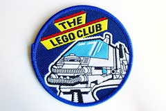 Monorail woven patch (BF Bricks) Tags: lego ephemera collectible patch sew embroidered 90s 80s