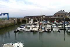 photo2381 (southglosguytwo) Tags: 2018 june coast porthcawl southwales water sky buildings cameraphonephoto boats marina harbour