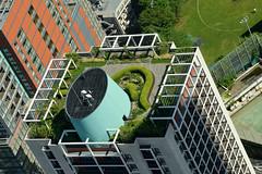 Sky garden. (varnaboy) Tags: moritower tokyo japan view skyscrapers city urban skyscraper roppongi roppongihills minato