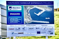 Aberdeen Harbour Expansion Project - Aberdeen Scotland 26/5/2018 (DanoAberdeen) Tags: notice plaque danoaberdeen 2018 aberdeen candid amateur scotland construction niggbay nigg torry dredger dredging seaport engineering project aberdeenharbourboard aberdeenscotland northsea dragados geotagged bay port workforce trawlers docks oilrigs tankers altens tullos abz abdn psv uk gb expansionproject concrete rocks breakwater greyhoperoad girdleness autumn summer winter spring wasser shipping vts constructionsite workboats buildingsite wss maritime seafarers anchor oil supplyships engineer