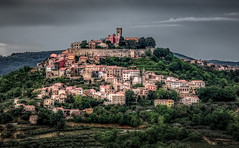 Motovun HDR (Bernd Thaller) Tags: motovun istria croatia village town medieval hdr buildings architecture hill mountainside outdoor