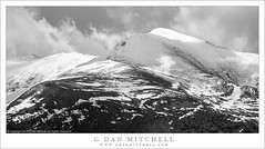 Mountains, Spring Snow (G Dan Mitchell) Tags: kuna crest sierra nevada yosemite national park tuolumne meadows mountains ridges spring snow storm clouds california usa north america landscape nature blackandwhite monochrome