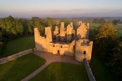 Sunset at Tolquhon Castle (iancowe) Tags: tolquhon castle tarves pitmedden scotland scottish ruin historic sunset evening aberdeenshire gordon dji phantom 4 pro