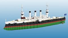 Seolforseld Returns! (Awesome-o-saurus) Tags: lego uss brooklyn armored cruiser ship
