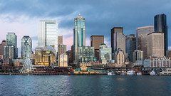 Seattle (ValeTer_) Tags: metropolitan area skyline cityscape city urban skyscraper metropolis tower block daytime water nikon d7500 seattle usa wa washington state architecture washingtonstate