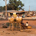Benin bread by the tracks