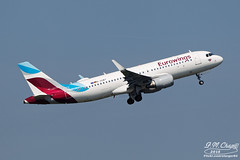 Eurowings [EW][EWG] / D-AEWT / A320-214 / EDDH (starger64) Tags: canoneos1dmrakiv hamburgairport ham flughafenhamburg eddh aviation airplane aircraft arlines eurowings 歐洲之翼 daewt a320214 a320 airbus ef7020028isiil eftc20xiii