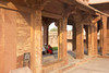 Audio stop 12 (Tim Brown's Pictures) Tags: india uttarpradesh fatehpursikri palace tomb akbar akbarthegreat moghulempire visitors tourism historic architecture buildings color mughal worldheritagesite unesco up
