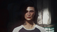 Courage (Biskveet) Tags: fallout 4 fallout4 portrait gaming girl screenshot reshade digital art