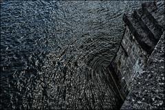 looking downwards (Armin Fuchs) Tags: arminfuchs würzburg main rivermain river blue water altemainbrücke niftyfifty