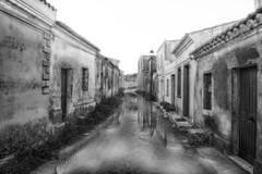 San Salvatore (Mauro Nuvoli) Tags: sansalvatore caabras oristano sardegna italy blackwhite village street farwest