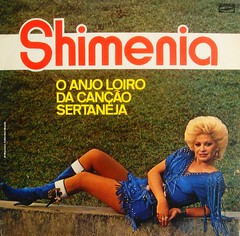 "1988 - Shimenia / O Anjo Loiro da Canção Sertaneja - Brazil lp (""The Brazilian 8 Track Museum"") Tags: alceu massini vintage collection sexy cover lp bizarre blonde record"