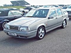 536 Volvo 850 T5 GLE (1995) (robertknight16) Tags: volvo sweden swedish 1990s 850 wisgaard vscc silverstone m969fbj