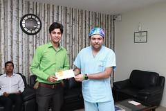 Mohak 150 Surgeries in a month pic 6 (IndiaObesity) Tags: mohakbariatricsandrobotics achievement bariatricsurgery topbariatriccenter