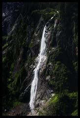 Meltwater (WibbleFishBanana) Tags: zillertal stilluptal österreich austria leesuperstopper alp water alpine mountain waterfall cascade crash trees cold ice meltwater melt stillupgrund mayrhofen gründe