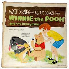 Record - Walt Disney All The Songs From Winnie The Pooh A (Eudaemonius) Tags: 20180608 ebay items cleaned books tea vhs tapes eudaemonius bluemarblebounty