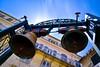 The Bells (rustyruth1959) Tags: nikon nikond5600 tamron16300mm europe greece corfu corfuoldtown church bells churchbells buildings apartments sky balcony rope structure belltower bell metal town oldtown patina outdoor clapper bellclapper windows shutters