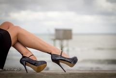 Mod'Heels (normamisslegs) Tags: fashion mode heels legs basnylon bascouture fullyfashioned nylon stockings secretsinlace sil nylonstrümpfe nylonstockings océan nature horizon shoes style french girl élégance élégante glamour