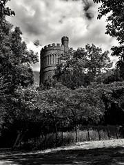 Water Feature (..Jim) Tags: croydon watertower blackandwhite