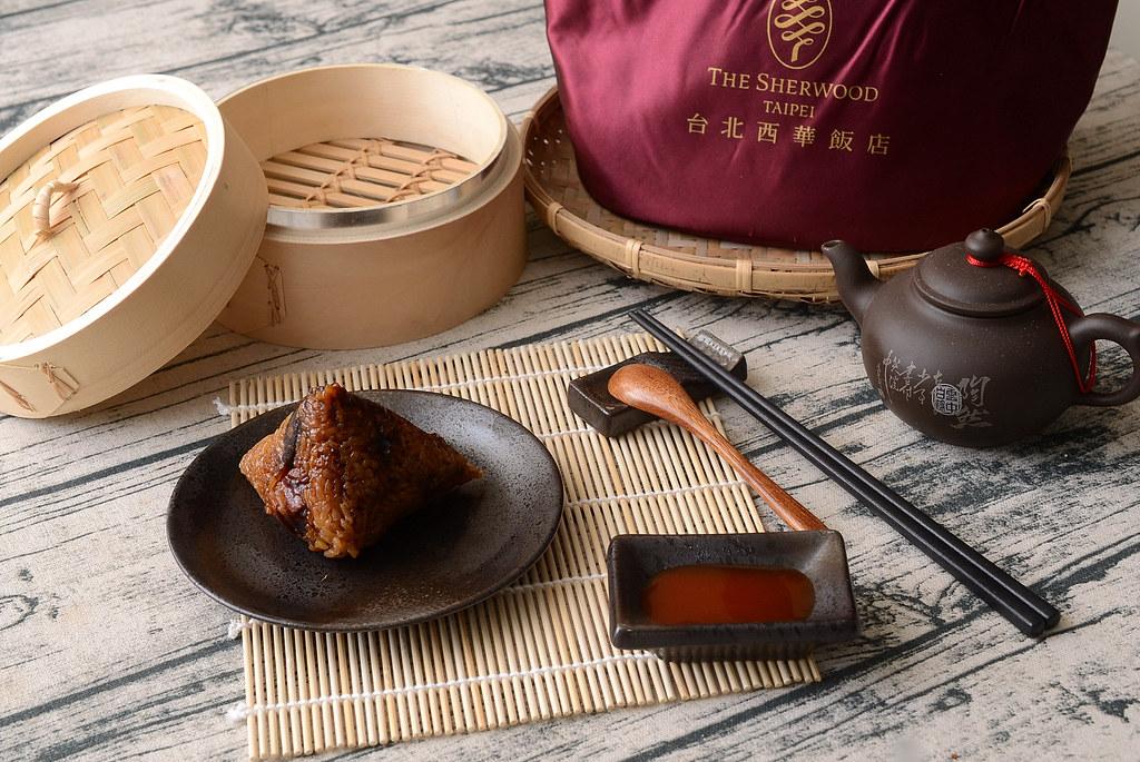 西華飯店2018五福臨門粽禮袋