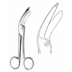 Excentric Bandage Scissors 16.0 cm (jfu.industries) Tags: bandage dressing excentric health healthcare hospital industries instruments jfu medical pakistan scissors surgery surgical surgicalinstruments