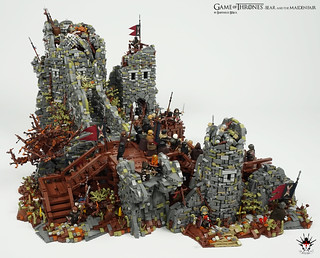 Game of Thrones - Bear and the Maiden Fair - by Barthezz Brick 3