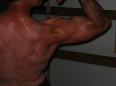 BICEPS (FLEX ROGERS) Tags: biceps big bulging muscle muscles muscular ripped workout pumped flex flexinh abs traps delts guns 18inch