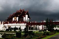 "Chiang Mai Damp Days. (ol'pete) Tags: chiangmai เชียงใหม่ park สวน rachapruek ราชพฤกษ์ rain ฝน ""royalpavilion"" หอคำหลวง september กันยายน ประเทศไทย thailand เมืองไทย ""powershot260hd"" earthasia"