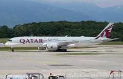 Airbus A350-941. Qatar Airways. A7-ALT. (Themarcogoon49) Tags: airbus a350 qatar airways aircraft planespotting gva lsgg cointrin airport switzerland avgeek