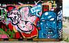 graffiti in Amsterdam (wojofoto) Tags: amsterdam nederland holland graffiti streetart wojofoto wolfgangjosten ndsm kynz