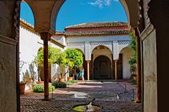 Patio de los naranjos (juanmzgz) Tags: alcazaba málaga andalucía españa patiodelosnaranjos arquitecturaárabe palacio