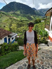 Jardin. Officially my favourite town, or 'pueblo' as they say in #Colombia. Beautifully colourful. Not touristy. Gorgeous mountain views. Wow, I could have stayed there a looong time :) #VisitColombia #Jardin #peublo #antioquia (www.mahliaamatina.com) Tags: abstract art relaxing mindful vibrant painting painter artist colourist nepal impressionism abstraction notional occult philosophical profound recondite separate existential healing magic