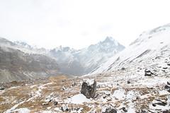 ABC (tsephu501) Tags: ifttt 500px mountain range snowcapped peak valley hill hiking ridge alpine hike pole steep snow machhapuchere fishtail abc landscape clouds tsephuphotography nepal acap