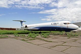 Cross (Caspiy) Fokker 100 UP-F1003 ALA 22-05-18