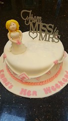 Hen Party Cake (Victorious_Sponge) Tags: hen party cake pink bride bridal shower miss mrs