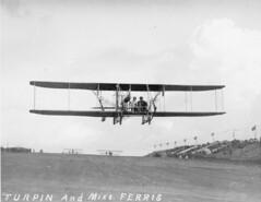 sdasm aircraft image (San Diego Air & Space Museum Archives) Tags: aviation aircraft airplane biplane wrightbrothers wrightmodelb wrightb aviator jamescliffordturpin jamescturpin jcliffordturpin jcturpin cliffordturpin cliffturpin turpin ferris